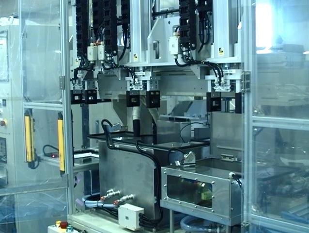 ろう付け部品 自動検査装置